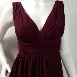 Bill Levkoff Formal Lined Chiffon Dress Sz 2  2194